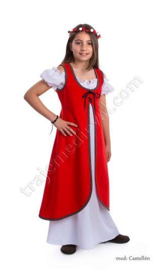 Modelo castellon rojo niña